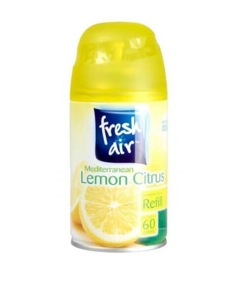 Air fresh refil 250 ml lemon.