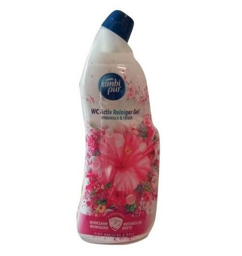 Ambi Pur WC żel 750 ml Pink Rose, a8.