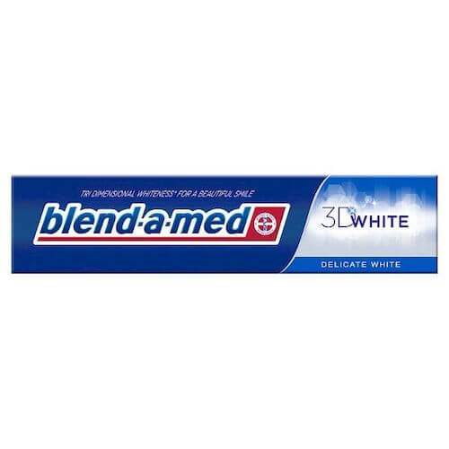 Blend-a-med pasta 125ml 3D White Delicate Mint.