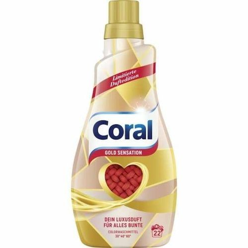 Coral żel do prania Gold Sensation 22p 1,1 L.