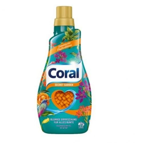 Coral żel do prania Secret Garden 22p 1,1 L.