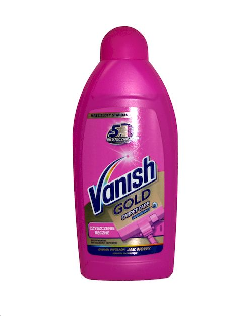 Vanish płyn do dywanów 500 ml Gold Lemon